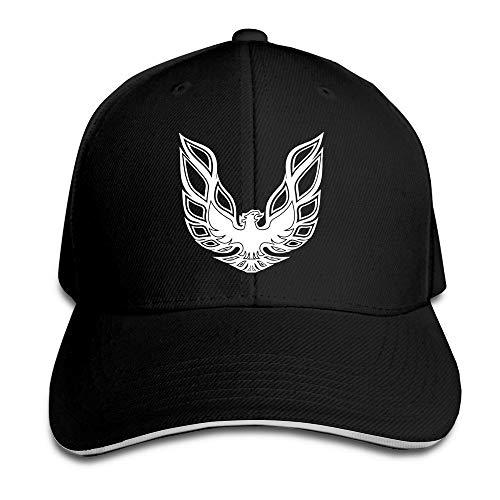 Pontiac Firebird Logo GTA Trans Am Retro Sweatshirt Flex Baseball Cap Black Black Hüte Mützen (Herren Am Trans)