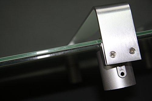 Infrarotheizung 600 Watt Glas Infrarot Heizung Design Elektrischer Heizkörper doppelte Bild 3*