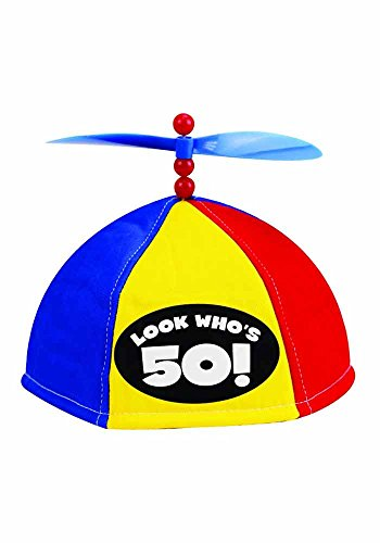 Mr.Giggelz Propeller Kappe - Look Whos 50 - Propeller Beanie