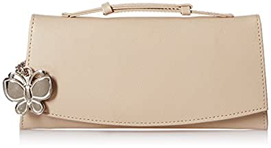 Butterflies Women's Wallet (Cream) (BNS 2352CRM)