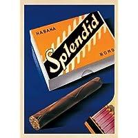 Splendid Habana 1930 di Neukomm, Fred-Stampa su tela in carta e decorazioni disponibili, Tela, SMALL (21.5 x 30 Inches )