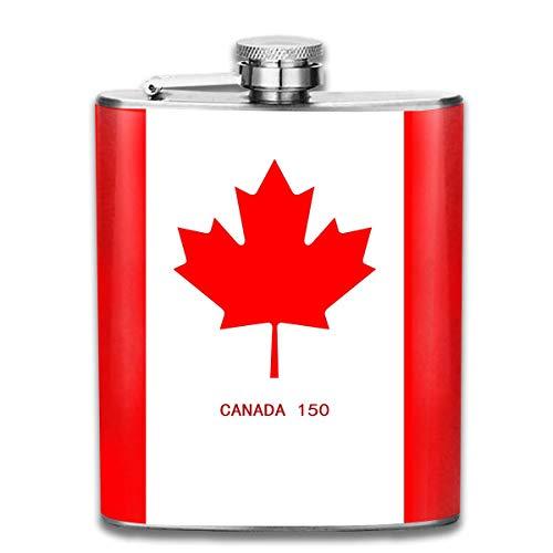 Ottawa Kanada Flag Edelstahl 7 Unzen Flachmann