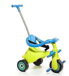 Moltó-Urban Trike II City 5 en 1 Triciclo Infantil, color verde 16216