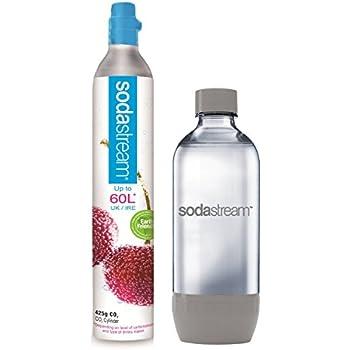 sodastream collect exchange 60 l gas cylinder and 1 l carbonating bottle pack. Black Bedroom Furniture Sets. Home Design Ideas