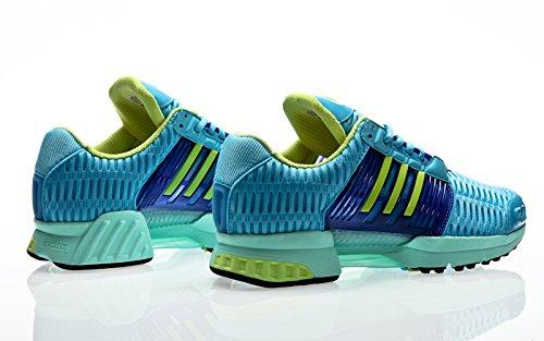 adidas Clima Cool 1, Scarpe da Ginnastica Uomo bright cyan-semi frozen yellow-purple