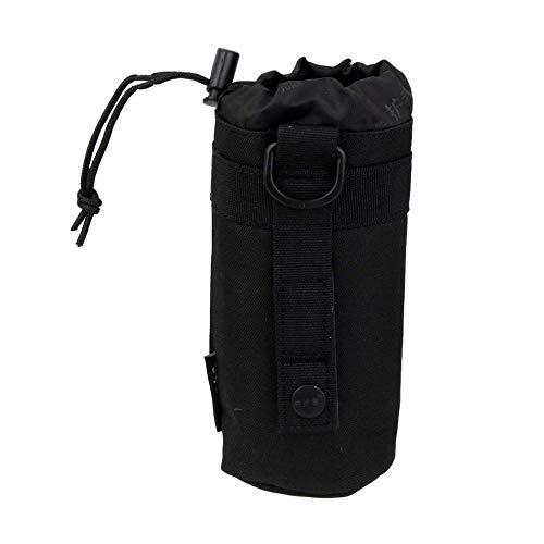 Aeromdale Wasserflasche Beutel Flaschentasche Flaschenhalter Wasserversorgung Tactical Molle Camping - Schwarz Camouflaged Military-Ausrüstung Gift Bag