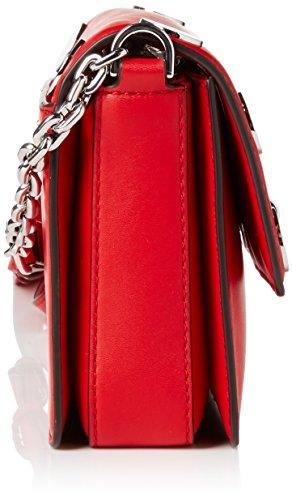 Michael Kors - Rivington Stud, Sacchetto donna Rosso (Bright Red)