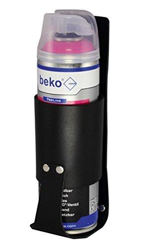 BEKO Holster für Aerosole, echt Leder schwarz, 1 Stück, 90565 (Aerosoles Leder)