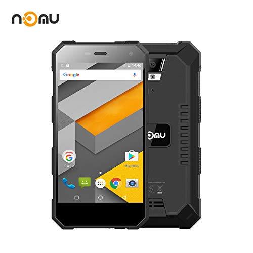 Outdoor Smartphone Schroffer Handy Wasserdichtes Smartphone International freigesetzter IP68 5.0 Zoll FHD Android 6.0 4G Doppel SIM 2G RAM 16G ROM 2.0MP + 8.0MP Doppelkamera Nomu S10 (schwarz)