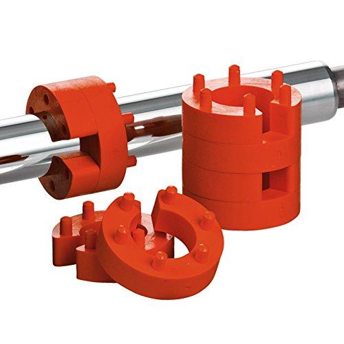 8er Set 16mm Federwegsbegrenzer Stick Clip X 2 Federwegbegrenzer mit 6-Fach Positionierung