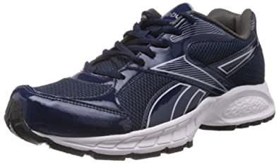 67a92db57b668 Reebok Men s navy rivet grey pure silver white black Running Shoes ...
