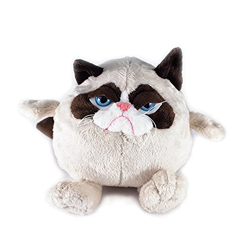 Ganz Grumpy Cat Ball 7 Plush by Ganz