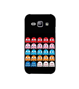 Fuson colourful cartoon character theme Designer Back Case Cover forSamsung Galaxy J1 (6) 2016 :: Samsung Galaxy J1 2016 Duos :: Samsung Galaxy J1 2016 J120F :: Samsung Galaxy Express 3 J120A :: Samsung Galaxy J1 2016 J120H J120M J120M J120T-3DQ-1073