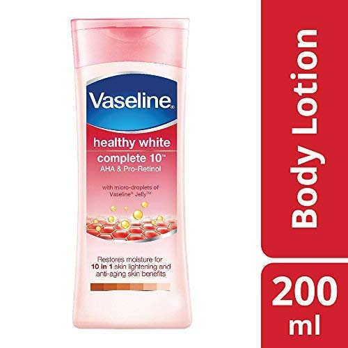 Vaseline Healthy White Complete 10 AHA and Pro Retinol, 200ml