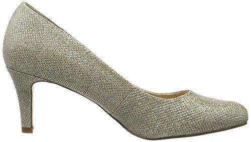 Buffalo David Bitton C404a-1 P1855d Glitter, Escarpins Femme Or (Gold 01)