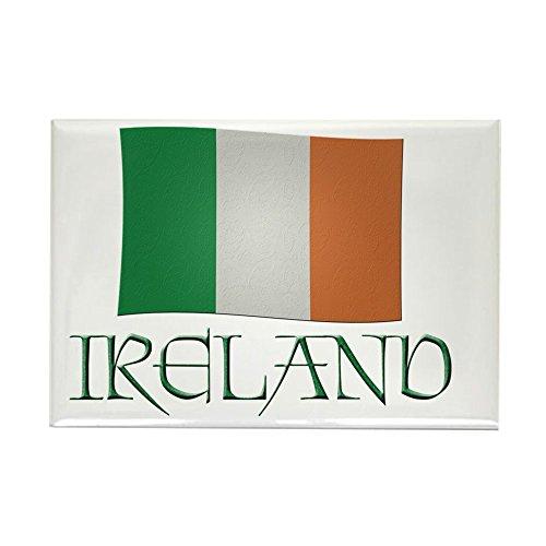 CafePress Kühlschrankmagnet, Motiv Irish-Flagge, rechteckig, 5,1 x 7,6 cm -