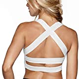 Best Wirefree Bras - Snailify Women's Sports Bra Criss Cross Racerback High Review