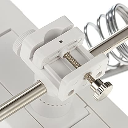 KKmoon 3X/4.5X Lupa LED Soldadura con Sostenedor Clip Cocodrilo Clamp Reparación de Soldadura Herramienta de Aumento Múltiples Funciones
