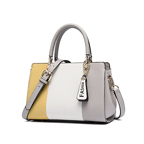 Nuova moda borse, borsette personalizzati Signor Wong+Bianco Grigio+
