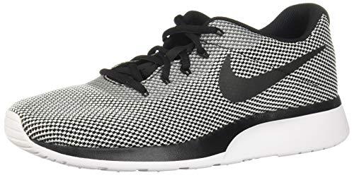 Nike Herren Sneaker Tanjun Racer, Scarpe da Ginnastica Basse Uomo, Nero Black-White 004, 42 EU