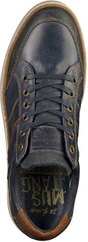 MUSTANG - Herren Halbschuhe - Blau Schuhe in Übergrößen Navy