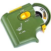 Gancho de corbata eléctrico automático, herramienta simple rápido portátil, resistente para la pesca, verde