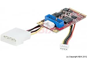 Adaptateur mini pcie usb 3.0 (nec chipset) 2 ports