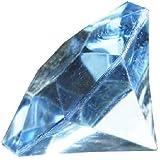 Deko - Diamanten. Größe ca 32 mm. 10 Stück. Farbe: HELLBLAU