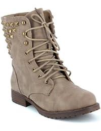 Boots godillots cloutés