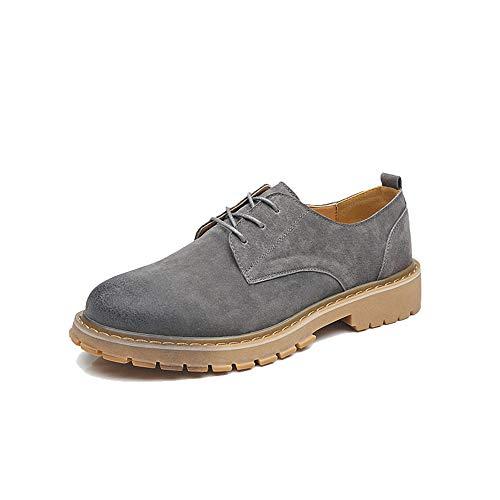 Bottines Hommes, Chaussures de Travail de Ceinture décontractées à Bout Rond résistant à l'usure,2018 Bottes Homme