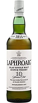 Laphroaig 10 Year Old Single Islay Malt Scotch Whisky 70cl