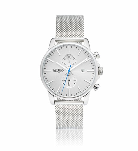 Tayroc Iconic Silver horloge TXM052