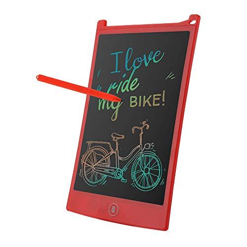 TianranRT 8.5 Zoll Farbe LCD Schreiben Pad Digital Zeichnen Tablette Elektronisch Grafik Tafel (Rot)