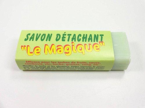 Savon Détachant Magique au Fiel De Boeuf et à La Terre De Sommieres Détachant Naturel Tous Textiles