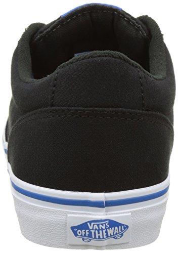 Vans Mn Winston, Sneakers Basses Homme Noir (Woven)