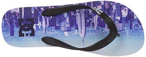 DC Shoes SPRAY GRAFFIK D0303276 Herren Zehentrenner Blue Haze