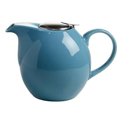 Maxwell & Williams IT13115 InfusionsT Théière en porcelaine avec filtre Bleu pétrole 1,5 l