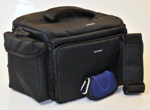 Kamertasche -Profi-Bag Big-, die sehr große Variante mit Schulter- und Hüftgurt