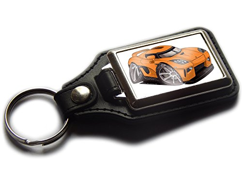 koenigsegg-ccx-sports-car-premium-koolart-leather-and-chrome-keyring-choose-a-colour-orange
