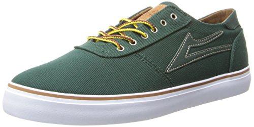 Lakai - Scarpe, Uomo Verde (Vert (Emerald Twill))