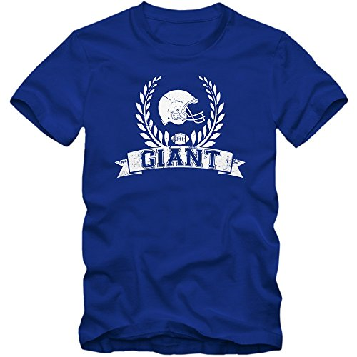 I'm a Giant #6 T-Shirt | Football | Herren | Super Bowl | Play Offs | USA | S-XXL, Farbe:Blau (Royalblue L190);Größe:XL