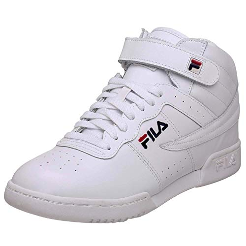 Fila Men's F-13 Sneakers,White,7 M