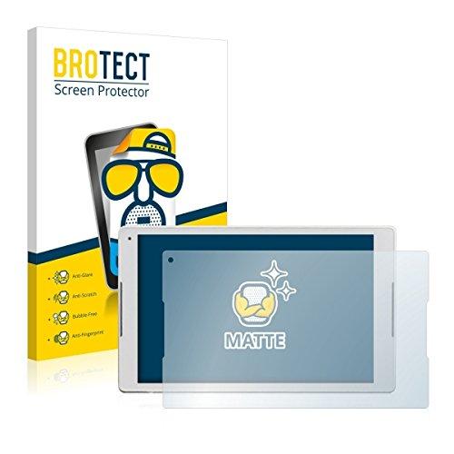 2X BROTECT Matt Displayschutz Schutzfolie für Alcatel Plus 10 (matt - entspiegelt, Kratzfest, schmutzabweisend)