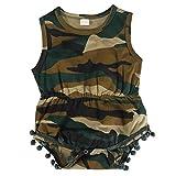 Baby Strampler, Camouflage Baby Boy Kleidung für die Jagd oder Militär Fans so tun Spiel Baby Mädchen Kleidung(80cm-Camouflage)