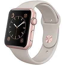 Apple MLC62FD/A Aluminium Sportarmband für Apple Watch (42 mm) rose/gold/lavendel