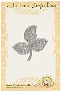La-La Land Crafts 2,5x 2,5ouvert Feuille Flourish Die