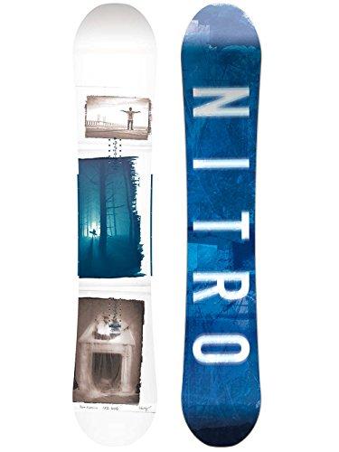 Nitro Snowboards Herren Team Exposure Wide GUL'18 Snowboard Grafik, 162