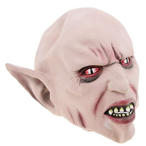 SM SunniMix Schreckliche Teufel / Devil Maske Cosplay Maske für Streich Spiel, aus Latex