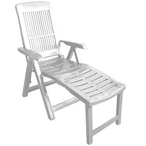 klappbarer liegestuhl gartenstuhl klappstuhl 5 positionen. Black Bedroom Furniture Sets. Home Design Ideas