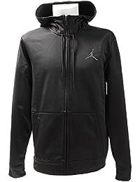 Nike 23 Alpha Therma FZ Hoodie Sudadera, Hombre, Negro (Black/Anthracite), 2XL